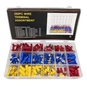 Wire terminals - 280 pcs - 678115