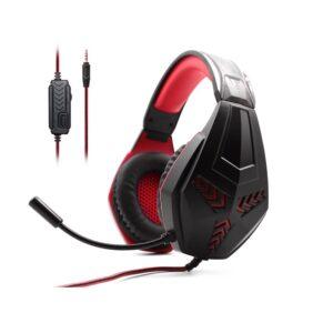 Ενσύρματα ακουστικά Gaming - M204 - 302896 - Red