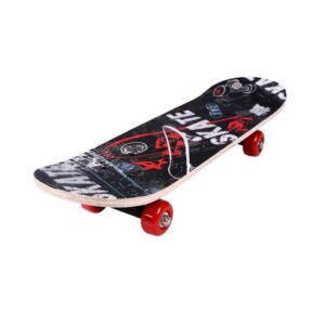 Skateboard - Black/Red - 2808 - 478968