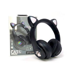Ασύρματα ακουστικά - Cat Headphones - P33M - 700335 - Black