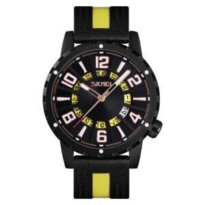 Aναλογικό ρολόι χειρός - Skmei - 9202 - Yellow