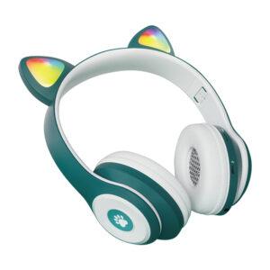 Ασύρματα ακουστικά - Cat Headphones - CT930 - 465584 - Green