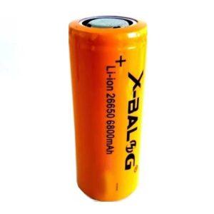 Επαναφορτιζόμενη μπαταρία - 6800mAh - 3.7V - 26650 - B26650