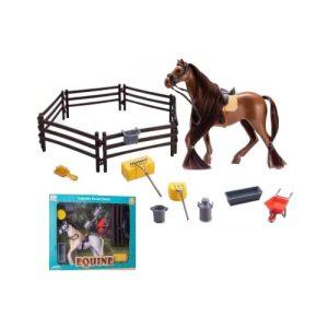 Αλογάκι με αξεσουάρ - 1230A - 445622